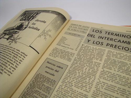 el campesino agricultura  año 1962 numero 8 y 9
