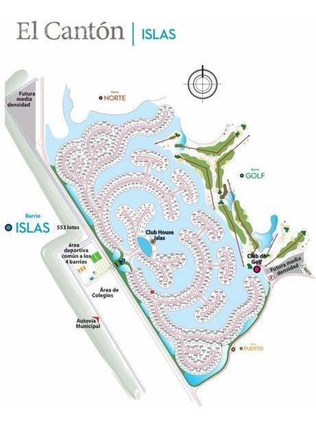 el canton  barrio golf  lote 142 al golf y al agua