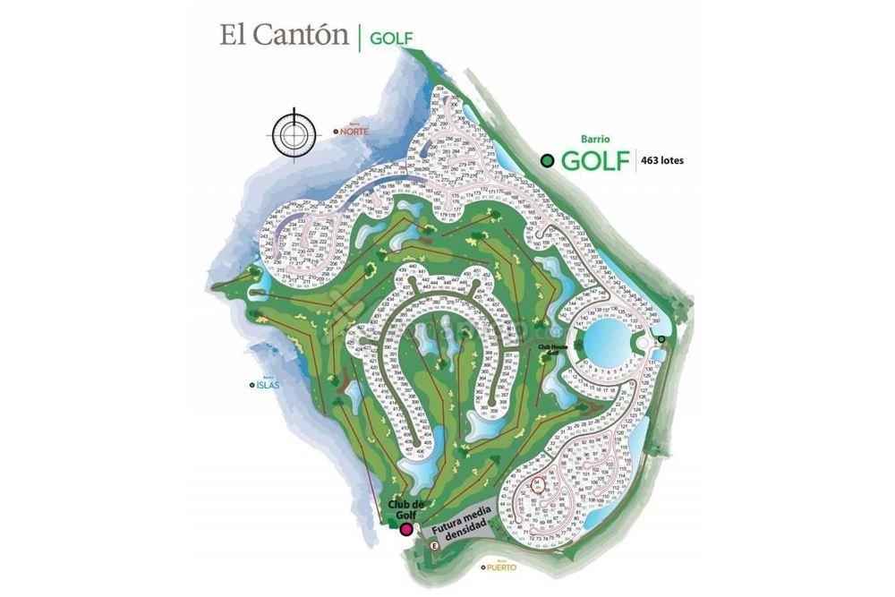 el canton golf lote 38 excelente vista hoyo 11