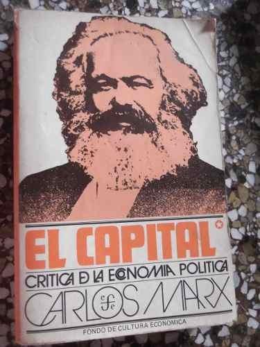 el capital karl marx tomo 1 fondo de cultura economica