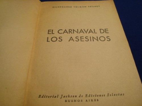el carnaval de los asesinos, h. tolman