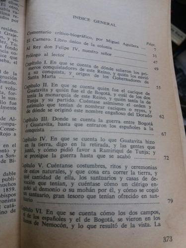 el carnero - juan rodriguez freyle - editorial bedout