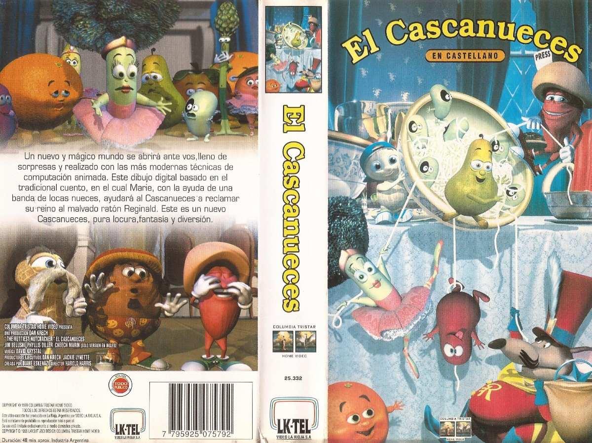 El Cascanueces Vhs Castellano Dibujos Animados Infantil - $ 40,00 en ...