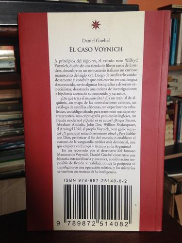 el caso voynich daniel guebel eterna cadencia