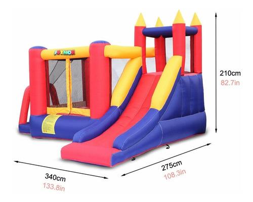 el castillo saltarin  inflable tres areas