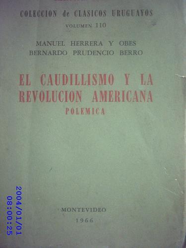 el caudillismo y la revolución americana