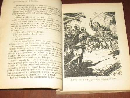 el cebo y la trampa : george challis - molino 1953 novela