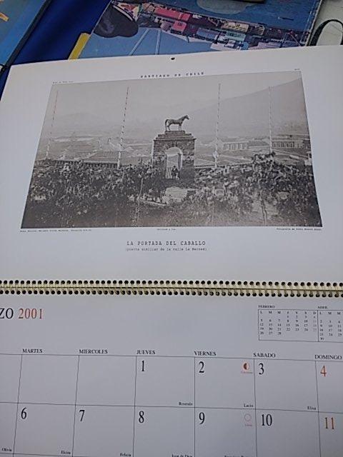 Santa Lucia Calendario.El Cerro Santa Lucia Siglo Xix Y Xx 12 Laminas Calendario 7 000