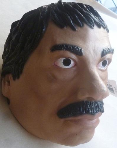 el chapo mascara de latex joaquin guzman fiestas carnaval