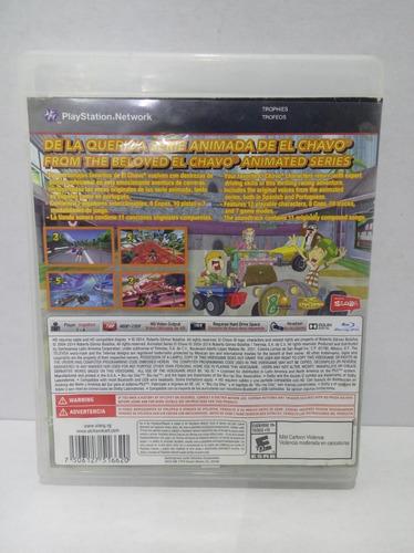 el chavo kart play station 3 ps3 garantizado + envío gratis
