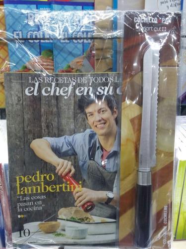 el chef en su casa