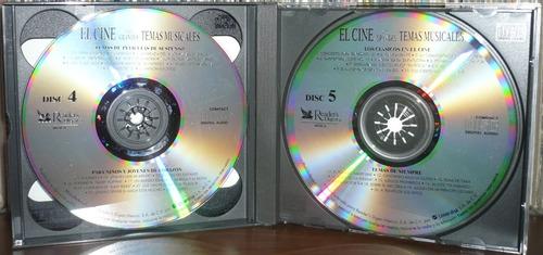 el cine y sus grandes temas musicales 5 cd caja de seleccion