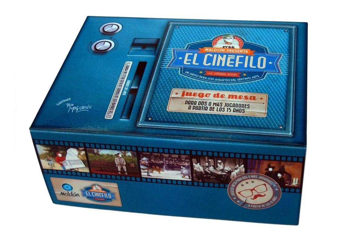 El Cinefilo Juego De Mesa Maldon 800 00 En Mercado Libre