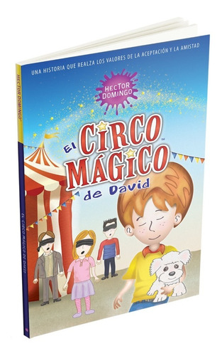 el circo mágico de david. libros para niños lectura primaria
