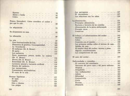 el cocker spaniel   /   florencio fiorone  /  223 páginas