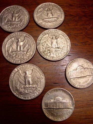 el cofre de los recuerdos monedas quarter dollar y 5 cvos