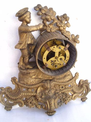 el cofre de los recuerdos reloj antiguo europeo petit bronce