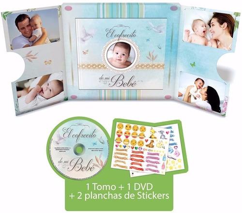 el cofrecito de mi bebé - 1 libro + 1 dvd + stickers