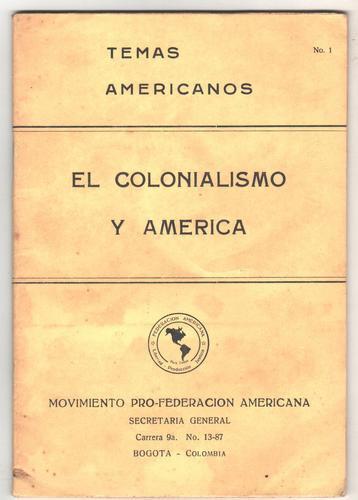 el colonialismo y america