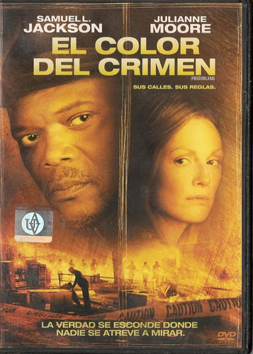 el color del crimen - en dvd - usado - 100%original