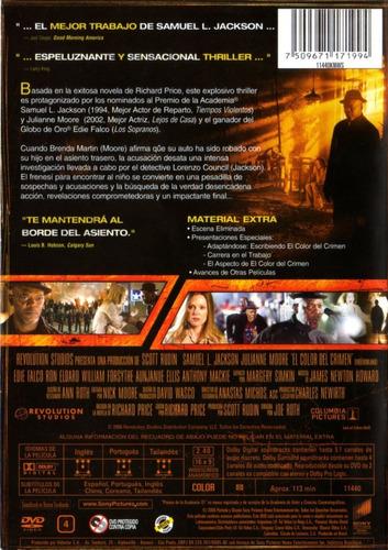 el color del crimen ( samuel l. jackson ) dvd original