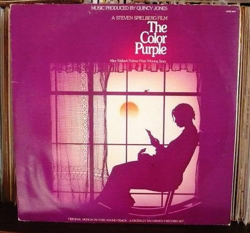 el color purpura lp soundtrack nacional quincy jones