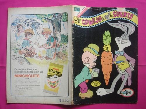 el conejo de la suerte n° 388 editorial novaro 1972