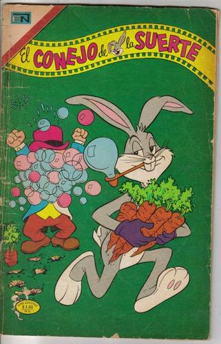 el conejo de la suerte.comics.t.grande.novaro.$75.00