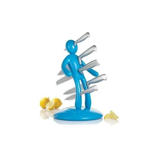 el conjunto de cuchillos de cocina ex, azul + envio gratis