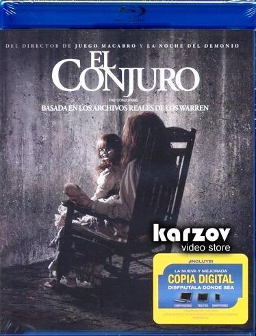 el conjuro the conjuring pelicula en blu-ray