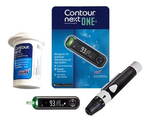 el contorno siguiente medidor de glucosa en sangre con