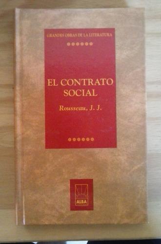 el contrato social j j rousseau alba
