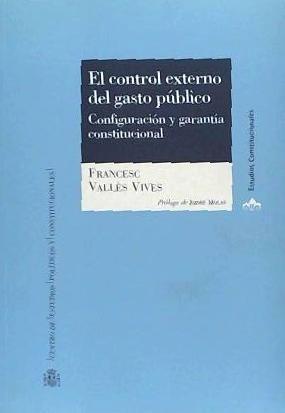 el control externo del gasto público(libro varios)