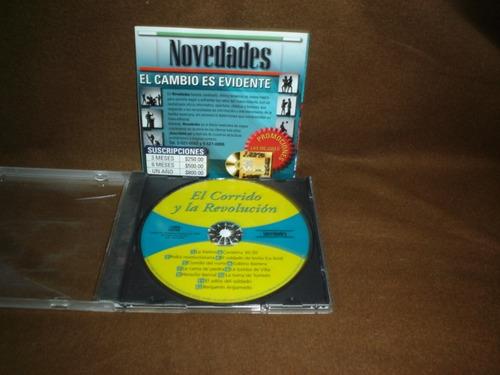 el corrido y la revolucion - cd album - asi es mexico daa
