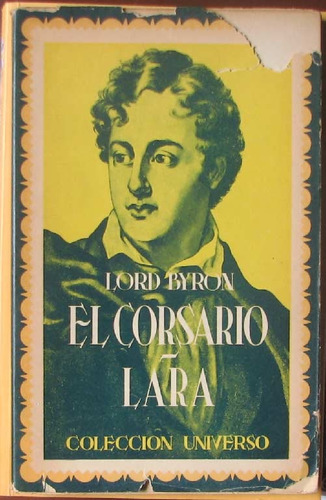 el corsario / lara - lord byron - editorial sopena - 1944