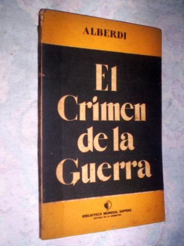 el crimen de la guerra alberdi 1939