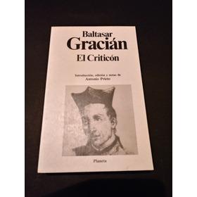 El Criticon  -  Baltasar Gracián  -nuevo-
