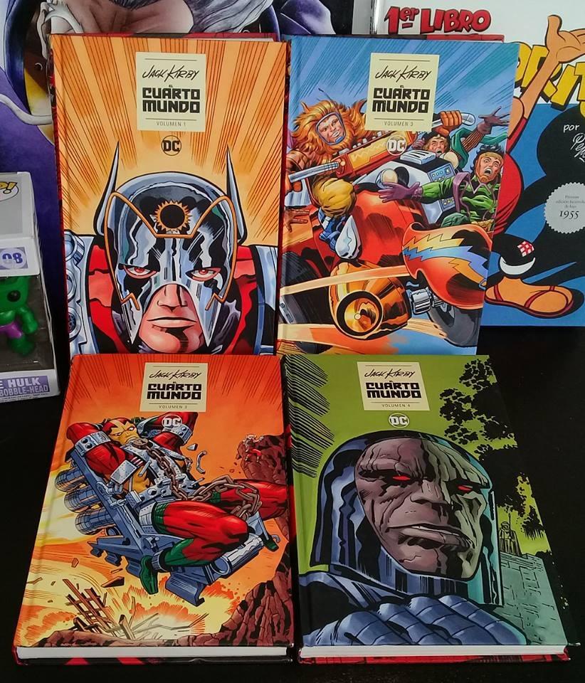 El Cuarto Mundo De Jack Kirby (1 - 4) Colección Completa