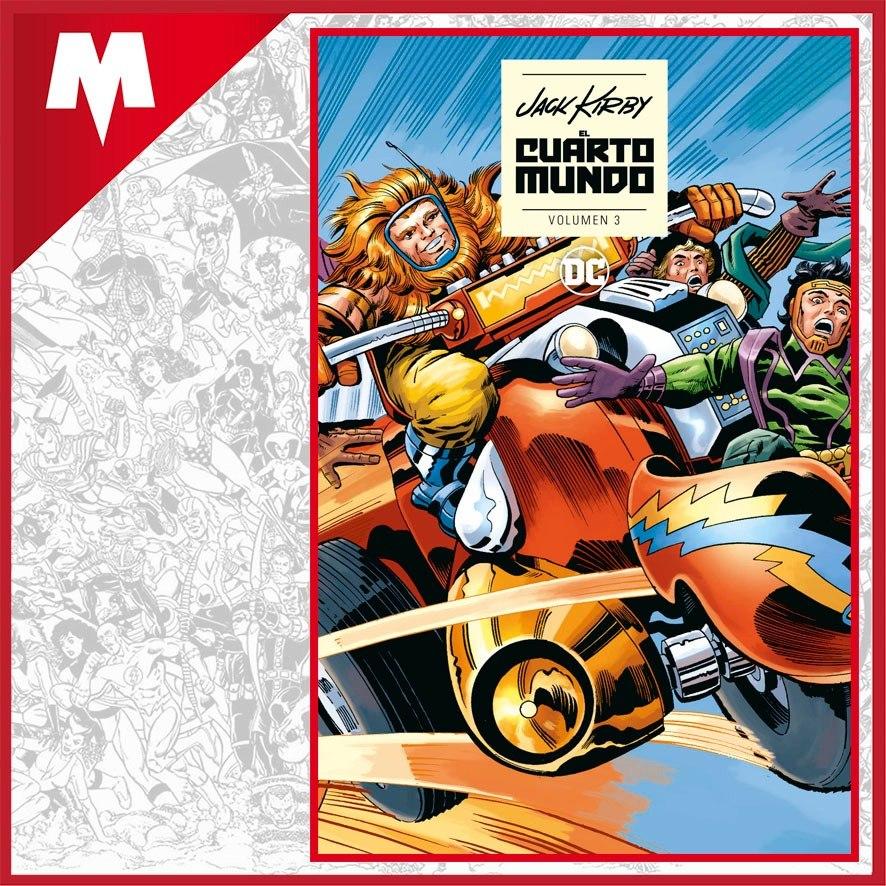 El Cuarto Mundo De Jack Kirby Vol 3 Ecc Español Nuevo - $ 2.576,00 ...