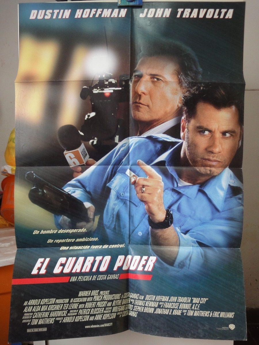El Cuarto Poder Dustin Hoffman John Travolta Costa-gavras - U$S 20 ...