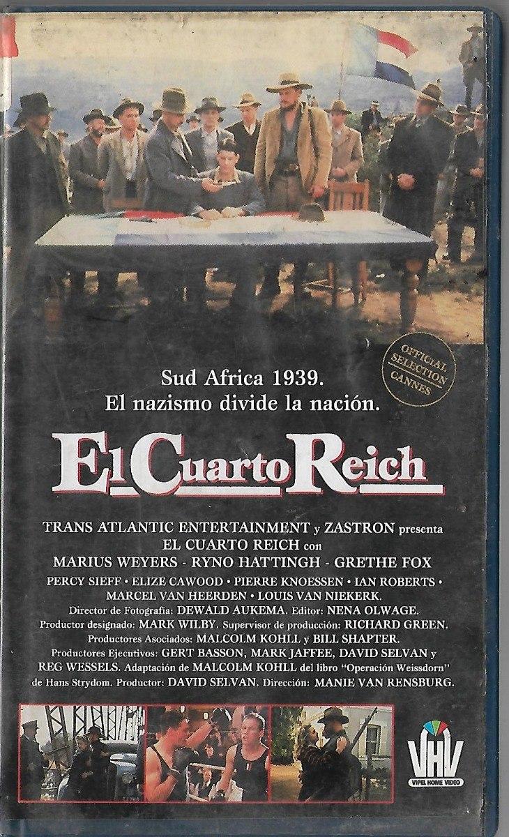 El Cuarto Reich Marius Weyers Ryno Hattingh Vhs - $ 80,00 en Mercado ...