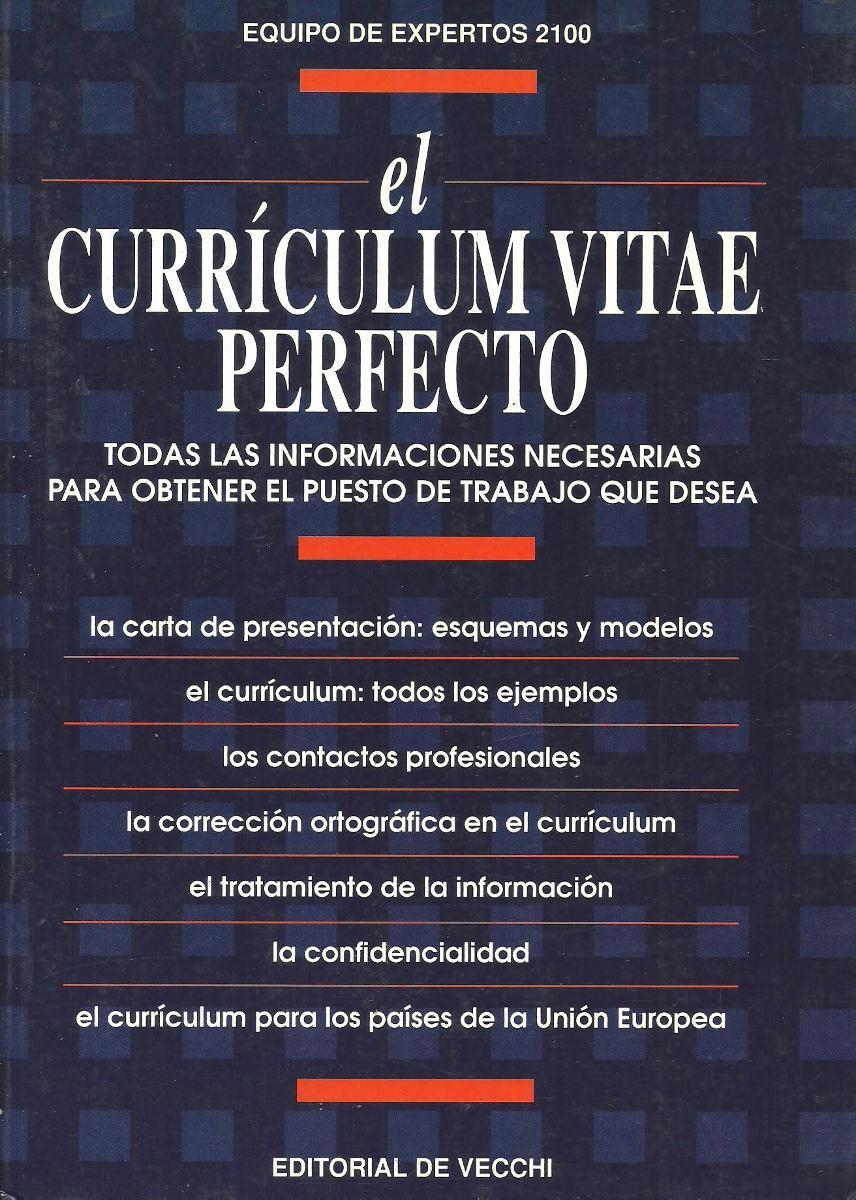 El Curriculum Vitae Perfecto - $ 144,00 en Mercado Libre