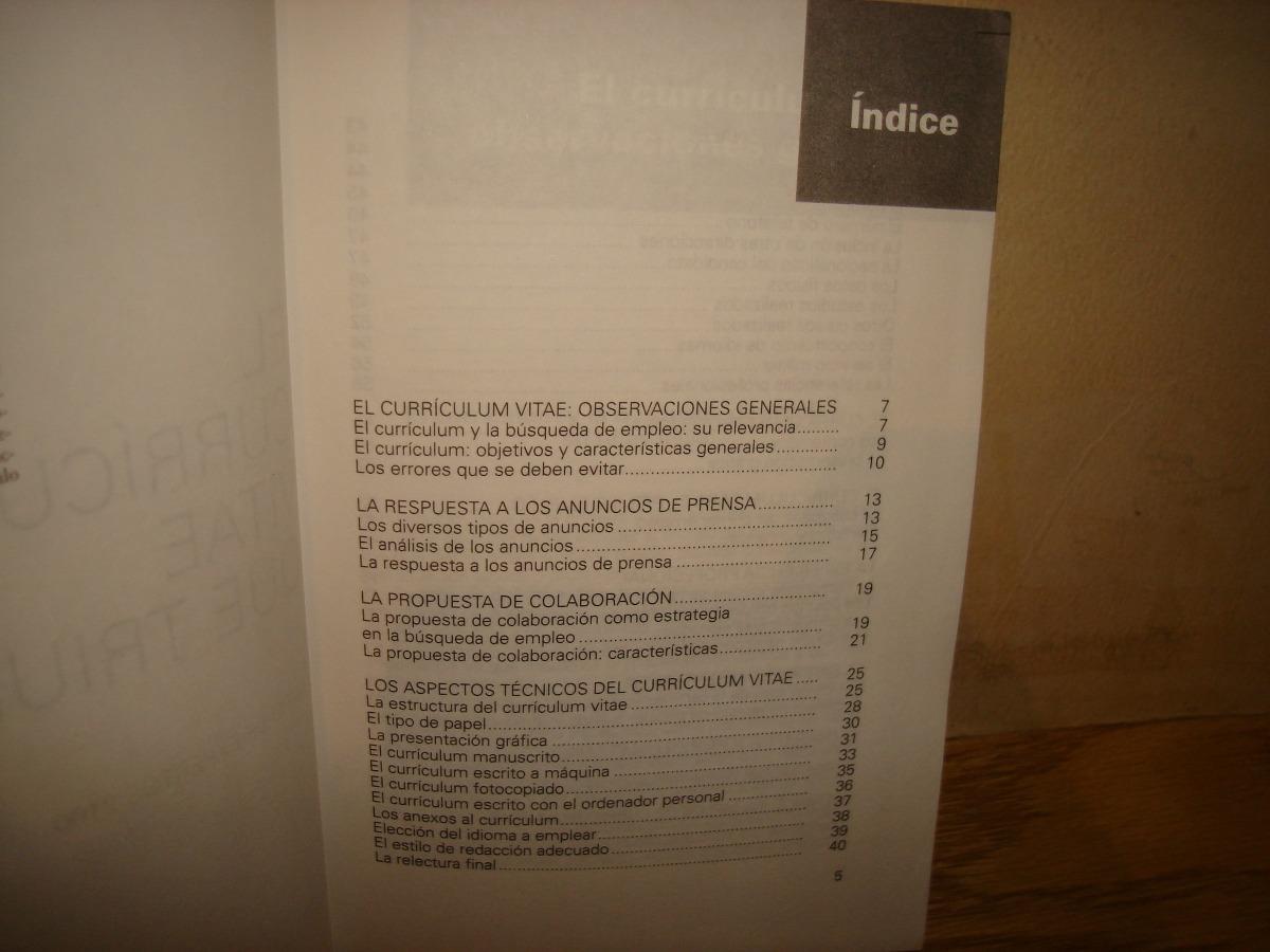 El Currículum Vitae Que Triunfa - $ 299.00 en Mercado Libre