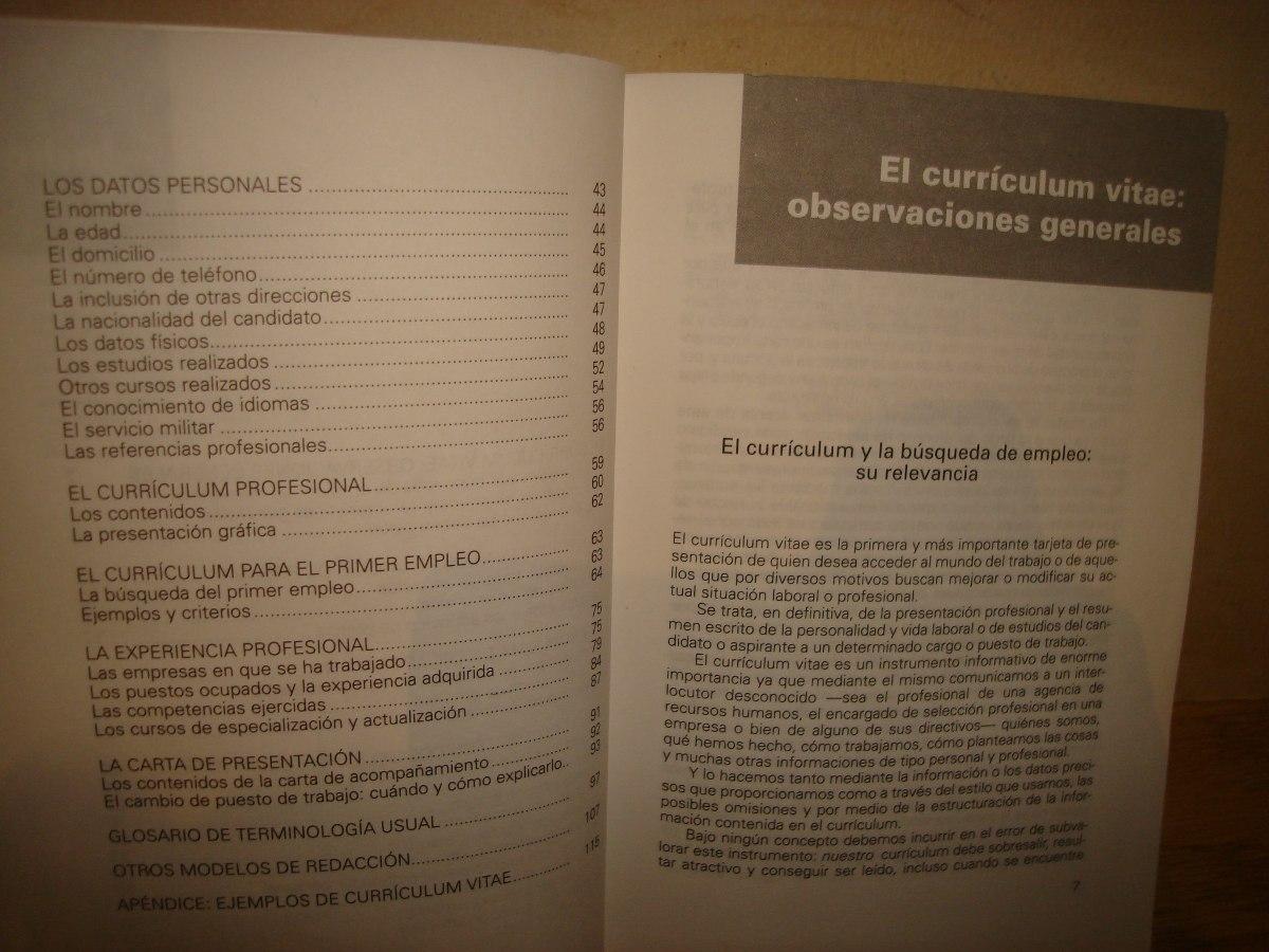 El Currículum Vitae Que Triunfa - $ 120.00 en Mercado Libre
