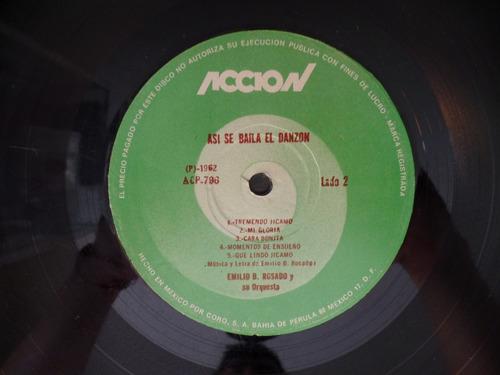 el danzon disco de vinilo