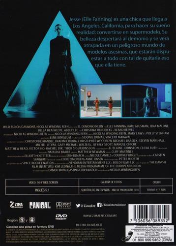 el demonio neon the demon neon elle fanning pelicula dvd