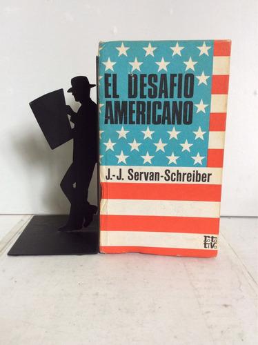 el desafío americano, j.-j. servan-schreiber