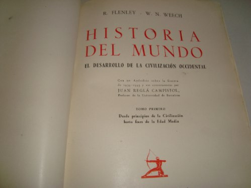 el desarrollo de la civilizacion occidental -r. flenley