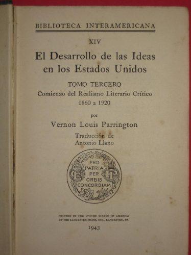 el desarrollo de las ideas en los estados unidos t3