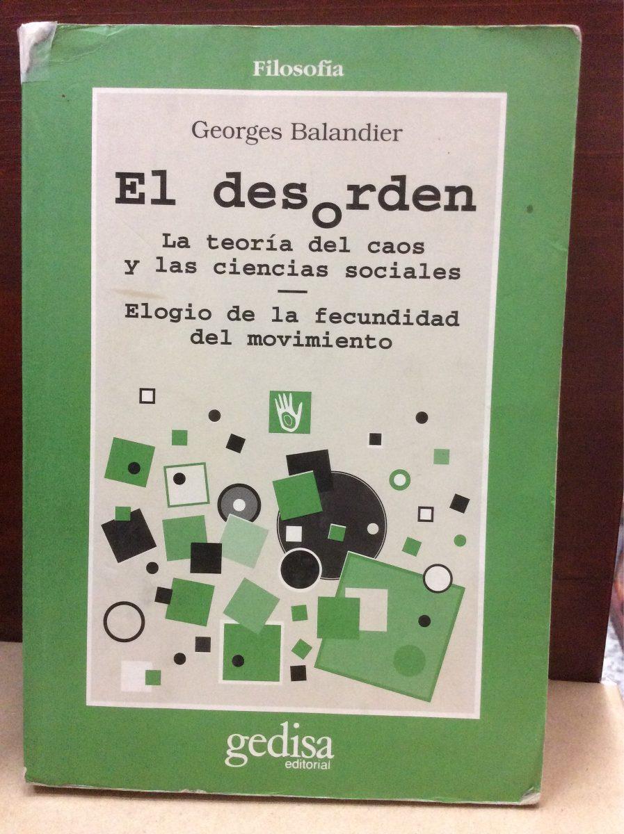 BALANDIER EL DESORDEN EBOOK